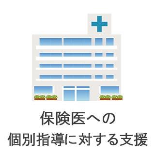 保健医への個別指導に対する支援